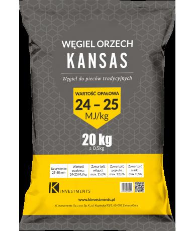 """Węgiel orzech """"Kansas"""" 500kg"""